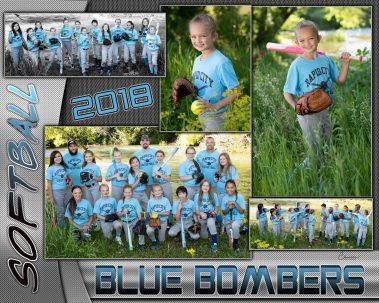 2018 softball blue bombers