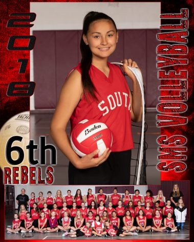 rebels volleyball