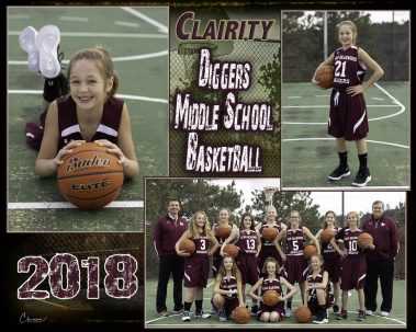 diggers middle school basketball