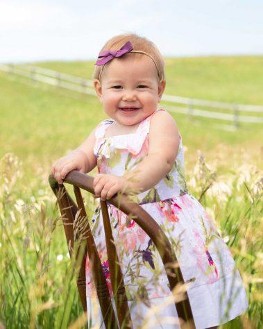 outdoor baby in field